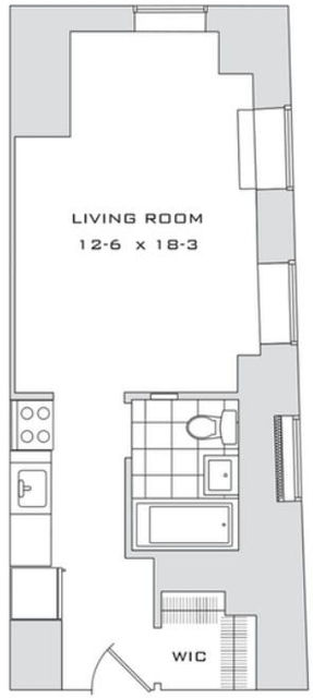 Studio, Financial District Rental in NYC for $2,280 - Photo 2