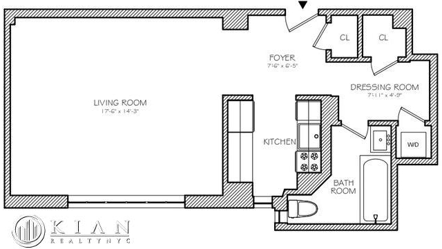 Studio, Theater District Rental in NYC for $4,000 - Photo 2