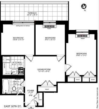 2 Bedrooms, Kips Bay Rental in NYC for $4,950 - Photo 2