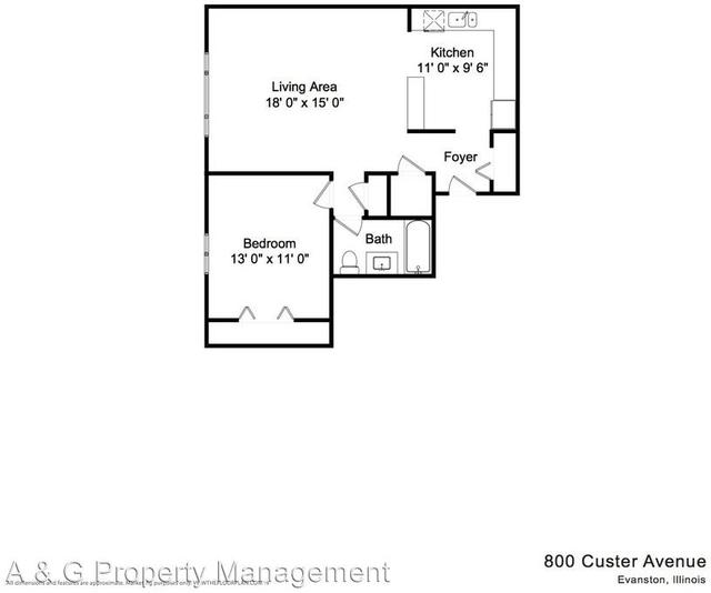 1 Bedroom, Evanston Rental in Chicago, IL for $1,400 - Photo 2