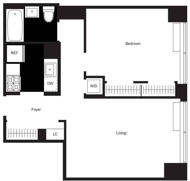 1 Bedroom, Chelsea Rental in NYC for $5,350 - Photo 2