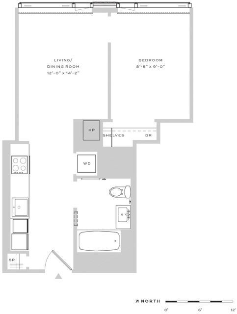 1 Bedroom, Downtown Brooklyn Rental in NYC for $3,165 - Photo 2