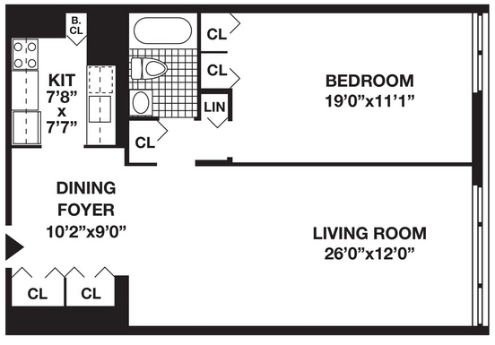 1 Bedroom, Battery Park City Rental in NYC for $4,050 - Photo 1