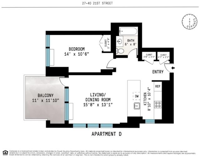 1 Bedroom, Astoria Rental in NYC for $2,500 - Photo 2