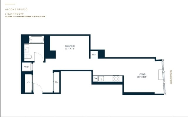 Studio, Financial District Rental in NYC for $3,781 - Photo 2