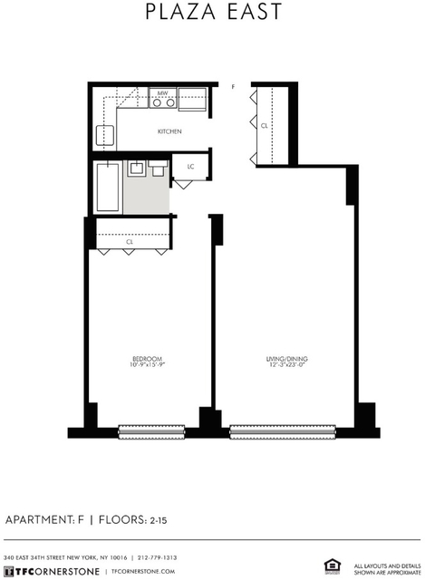 1 Bedroom, Kips Bay Rental in NYC for $3,443 - Photo 2