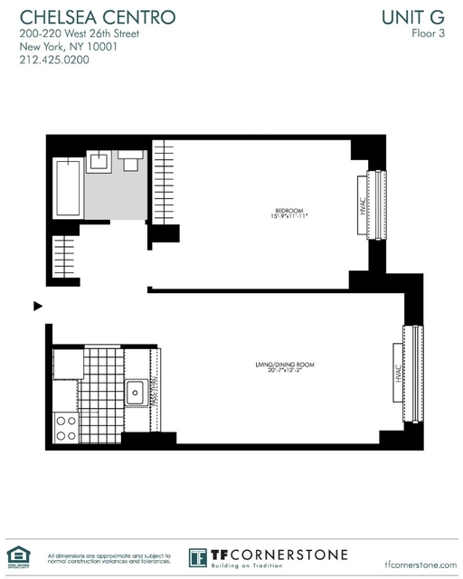 2 Bedrooms, Chelsea Rental in NYC for $4,029 - Photo 2