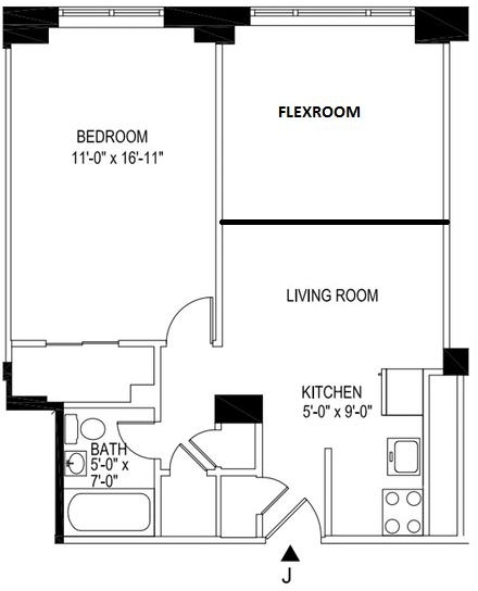 Room, Manhattan Valley Rental in NYC for $1,710 - Photo 2