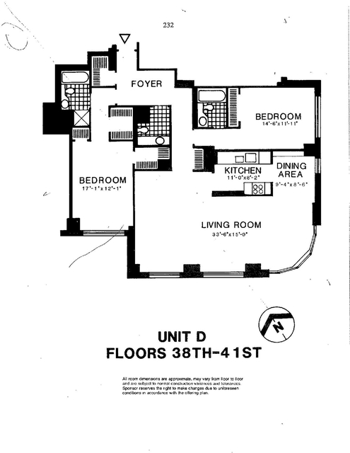 2 Bedrooms, Battery Park City Rental in NYC for $9,150 - Photo 2