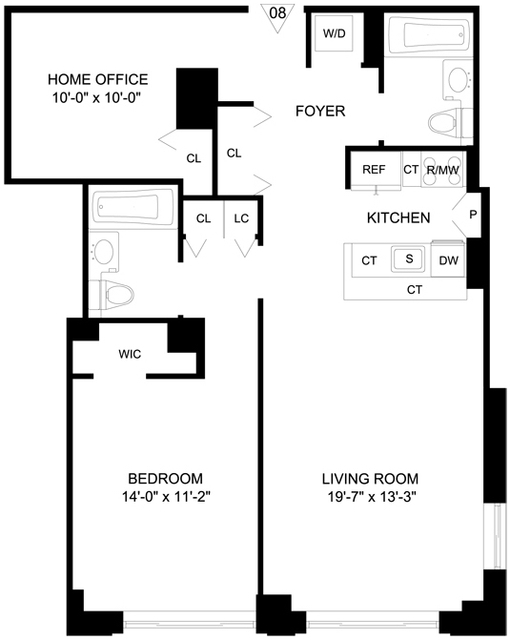 1 Bedroom, Garment District Rental in NYC for $4,895 - Photo 1