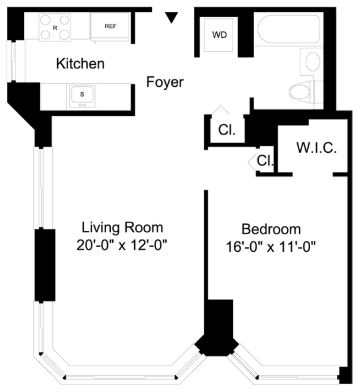 1 Bedroom, Financial District Rental in NYC for $4,207 - Photo 2