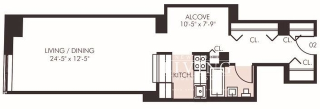 Studio, Financial District Rental in NYC for $2,989 - Photo 2