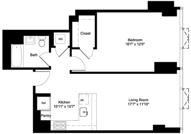 1 Bedroom, NoMad Rental in NYC for $5,235 - Photo 2