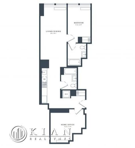 1 Bedroom, Financial District Rental in NYC for $5,695 - Photo 2