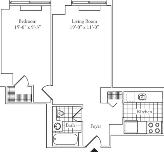 1 Bedroom, Lincoln Square Rental in NYC for $4,274 - Photo 2