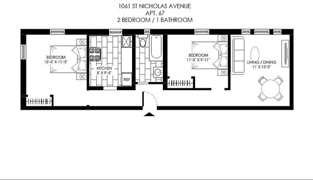 2 Bedrooms, Washington Heights Rental in NYC for $2,437 - Photo 2