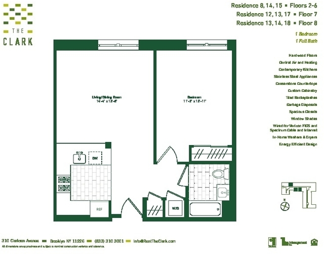 1 Bedroom, Flatbush Rental in NYC for $2,372 - Photo 2