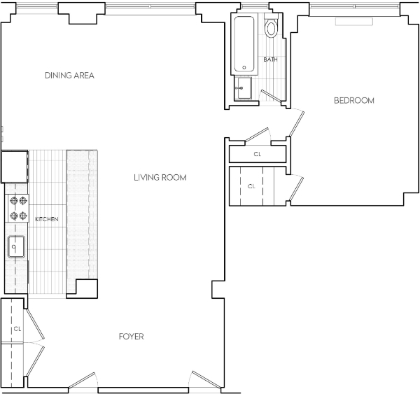 1 Bedroom, Sutton Place Rental in NYC for $4,262 - Photo 2