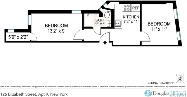 2 Bedrooms, Little Italy Rental in NYC for $3,450 - Photo 2