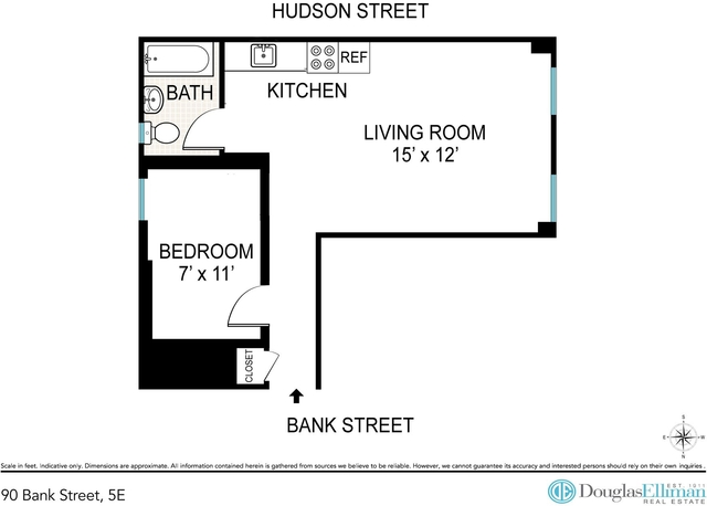 1 Bedroom, West Village Rental in NYC for $3,475 - Photo 2