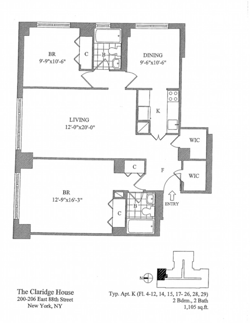 3 Bedrooms, Yorkville Rental in NYC for $5,795 - Photo 2