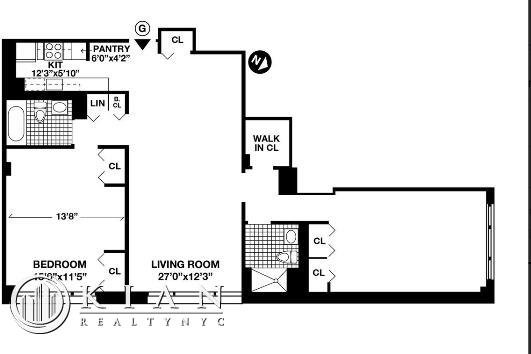 2 Bedrooms, Battery Park City Rental in NYC for $5,749 - Photo 2