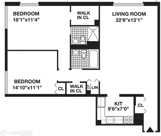 2 Bedrooms, Battery Park City Rental in NYC for $6,050 - Photo 1