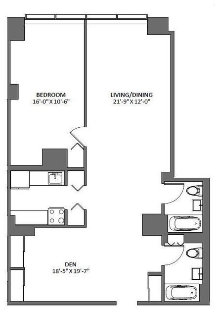 2 Bedrooms, Tribeca Rental in NYC for $6,871 - Photo 2