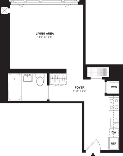 Studio, Chelsea Rental in NYC for $4,067 - Photo 2