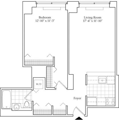 1 Bedroom, Lincoln Square Rental in NYC for $4,014 - Photo 2