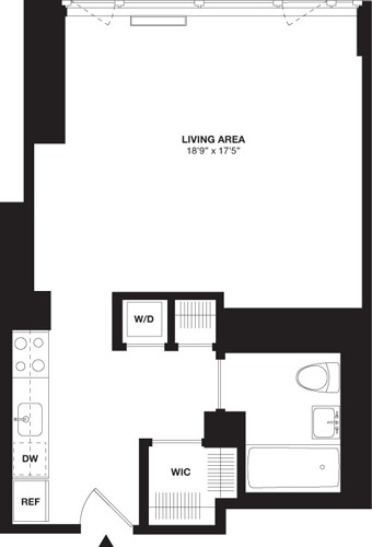Studio, Chelsea Rental in NYC for $4,428 - Photo 2