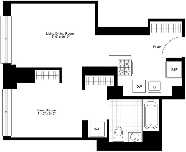 Studio, Chelsea Rental in NYC for $4,520 - Photo 2
