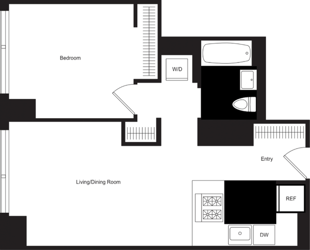 1 Bedroom, Hell's Kitchen Rental in NYC for $4,380 - Photo 1