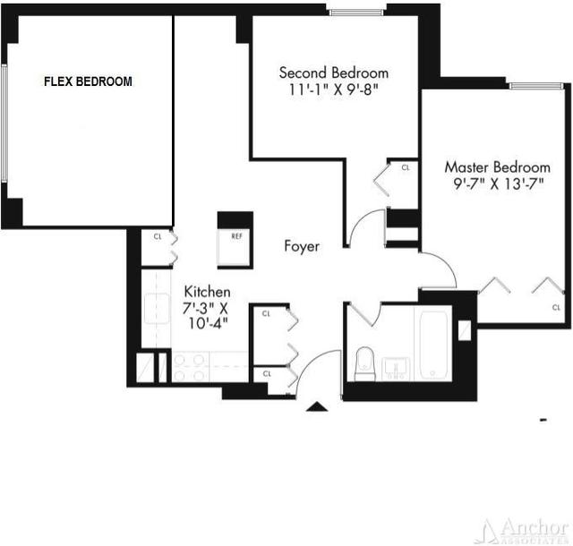 3 Bedrooms, Kips Bay Rental in NYC for $3,500 - Photo 2