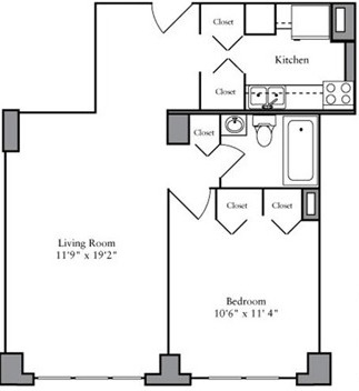 1 Bedroom, Yorkville Rental in NYC for $3,622 - Photo 2