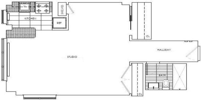 Studio, Sutton Place Rental in NYC for $3,425 - Photo 2