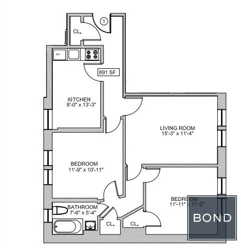 2 Bedrooms, West Village Rental in NYC for $5,575 - Photo 2