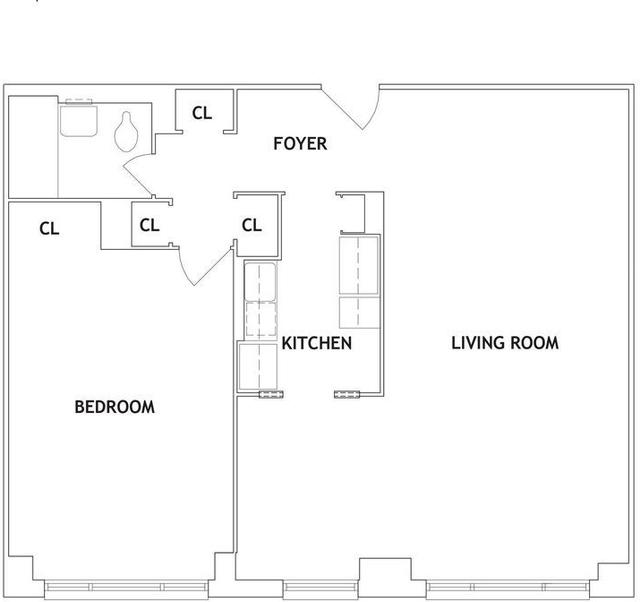 1 Bedroom, Kew Gardens Rental in NYC for $1,850 - Photo 2