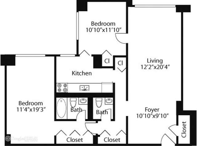 2 Bedrooms, Rose Hill Rental in NYC for $5,236 - Photo 2