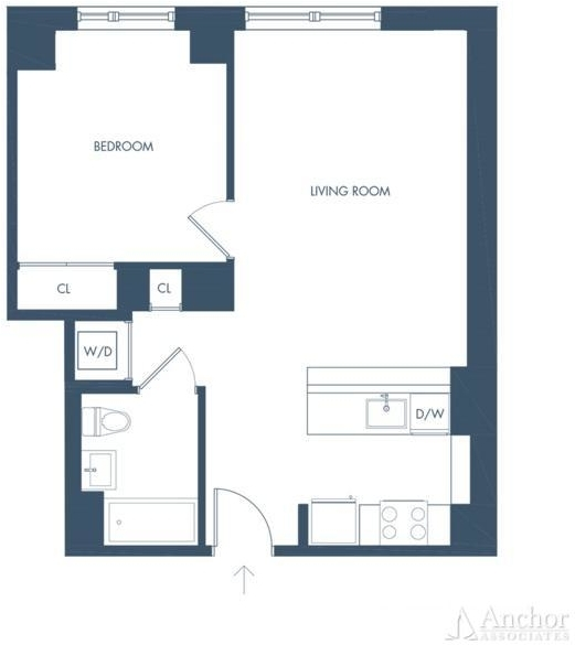 1 Bedroom, Long Island City Rental in NYC for $3,152 - Photo 2