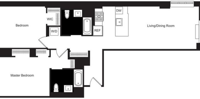 2 Bedrooms, Hudson Square Rental in NYC for $9,774 - Photo 2
