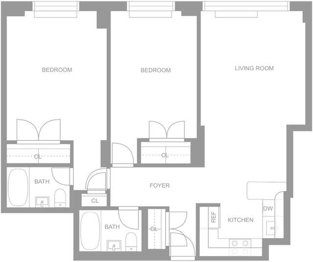 2 Bedrooms, Upper East Side Rental in NYC for $4,996 - Photo 2