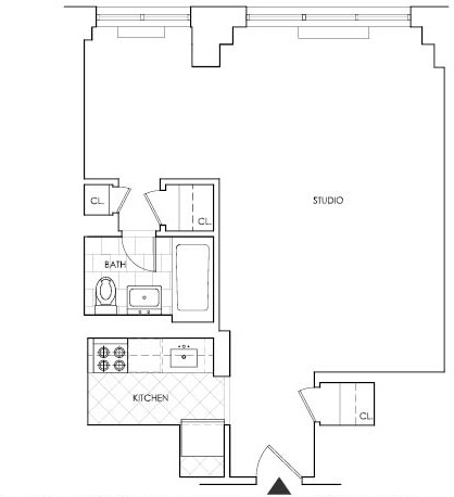 Studio, Rose Hill Rental in NYC for $3,550 - Photo 2