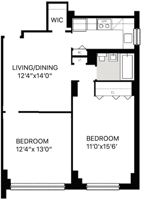 1 Bedroom, Kips Bay Rental in NYC for $3,571 - Photo 2