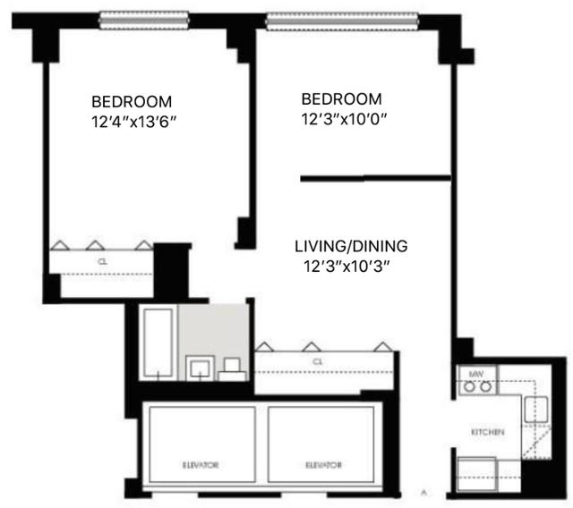 1 Bedroom, Kips Bay Rental in NYC for $3,517 - Photo 2