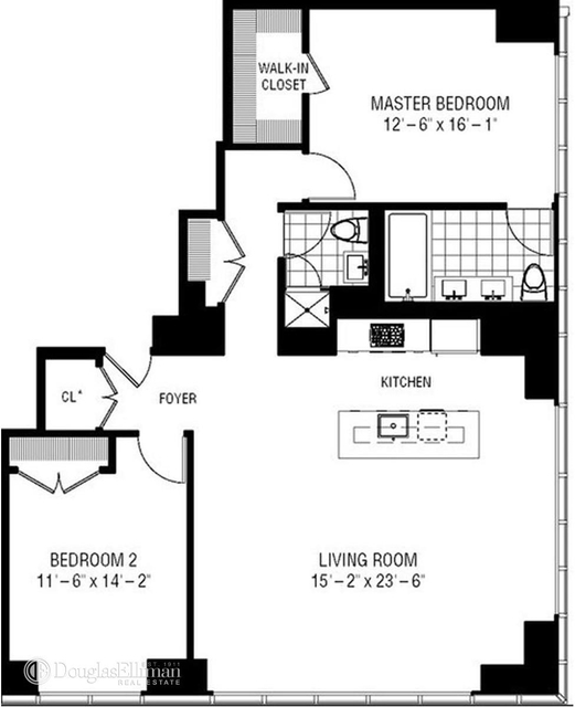 2 Bedrooms, Garment District Rental in NYC for $6,700 - Photo 2