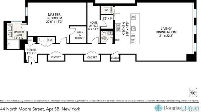 1 Bedroom, Tribeca Rental in NYC for $8,750 - Photo 2