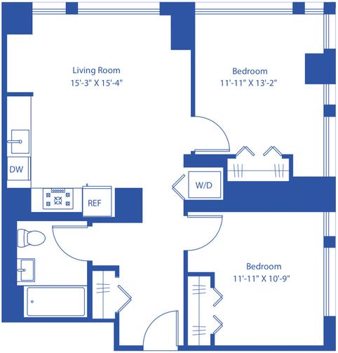 2 Bedrooms, Astoria Rental in NYC for $3,686 - Photo 2