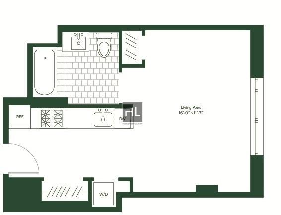 Studio, Prospect Lefferts Gardens Rental in NYC for $2,450 - Photo 1