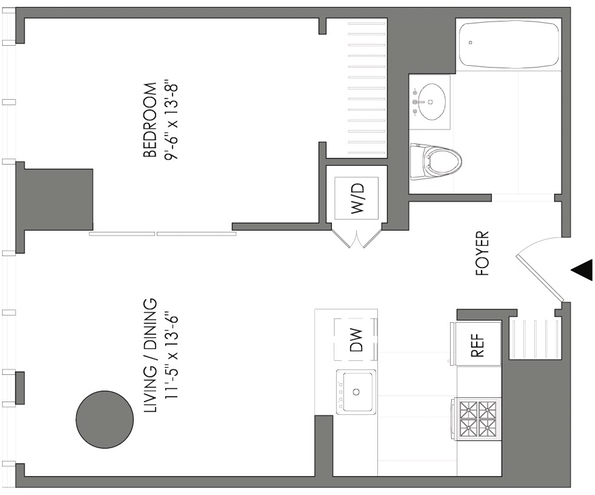 1 Bedroom, Long Island City Rental in NYC for $2,920 - Photo 2